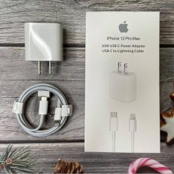 Bộ sạc nhanh Apple 20W Type-C, chuẩn cho Iphone 12 chính hãng